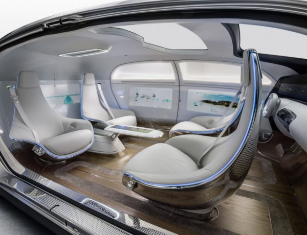 Mercedez-Benz self-driving