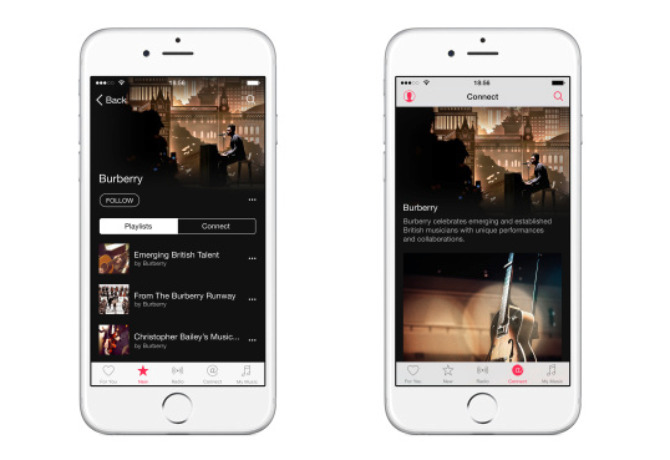 Burberry Apple Music2
