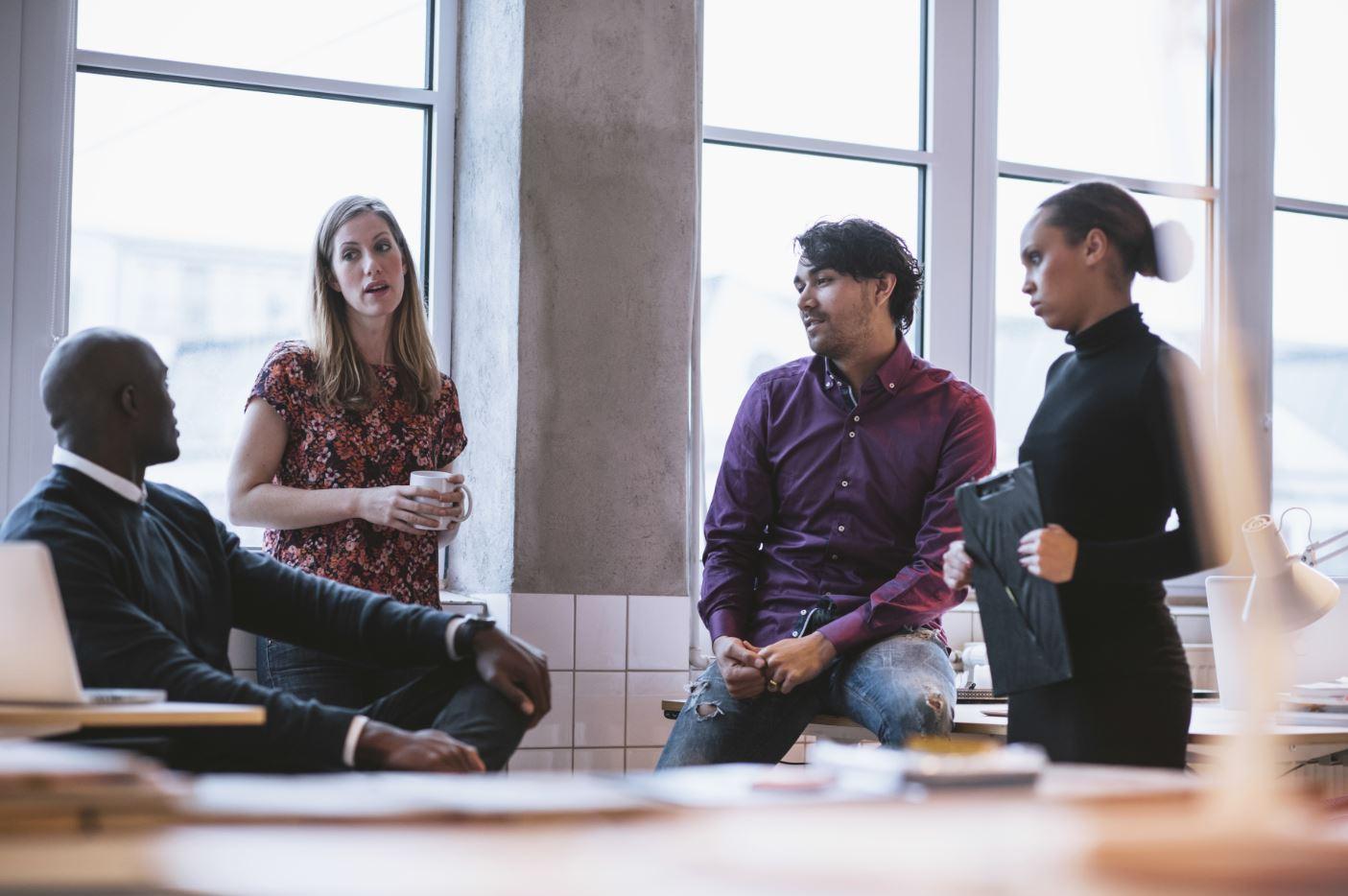 Coworker in team meeting - 1 part 7