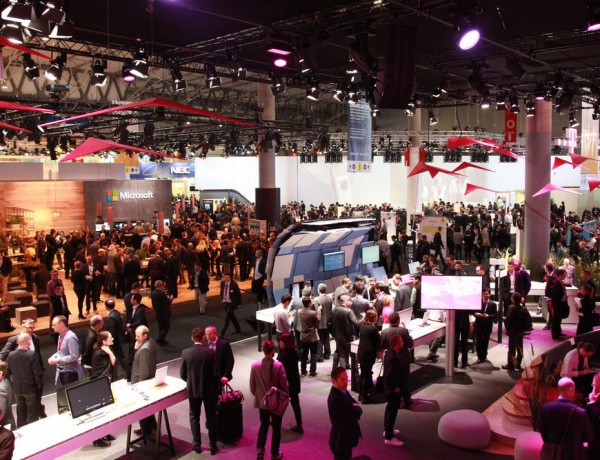 MWC exhibition hall
