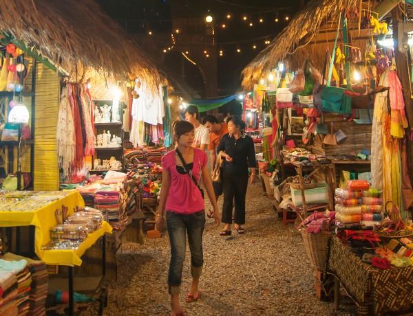 Cambodia shopping