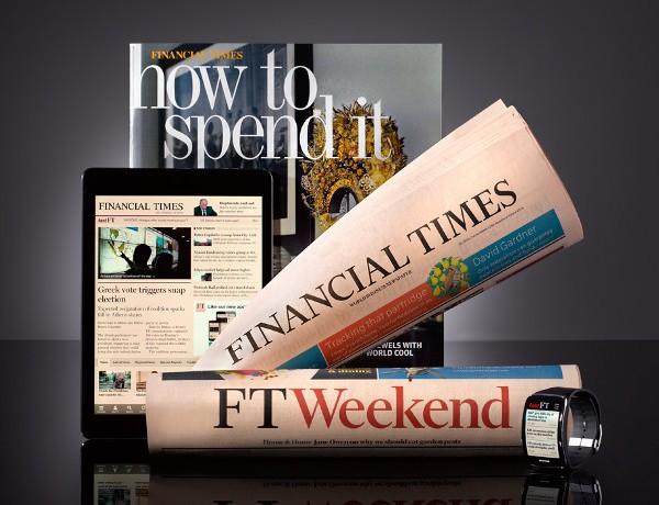 Financial Times brand photo