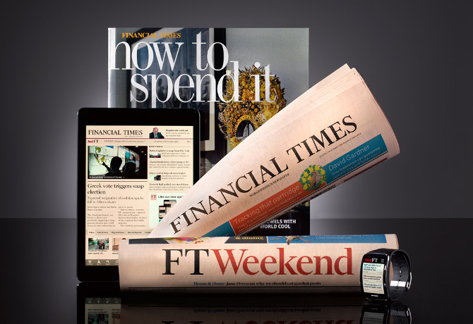 Financial Times brand photo