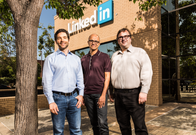 Microsoft to purchase LinkedIn in $26.2bn deal