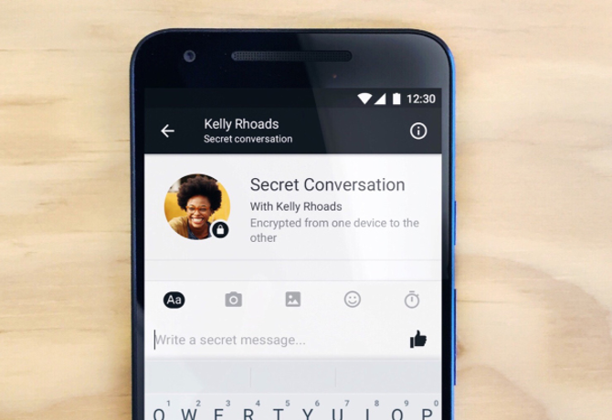 "Facebook Messenger rolls out ""Secret Conversations"" and end-to-end encryption"