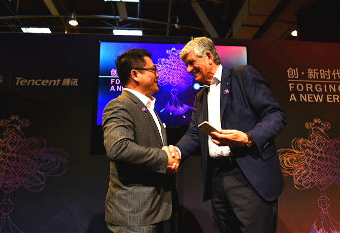 Publicis and Tencent partner globally to 'innovate without borders'