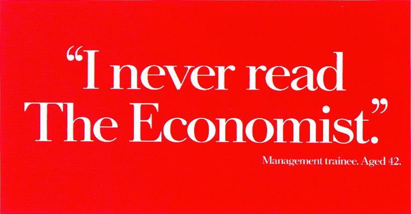 Economist ad