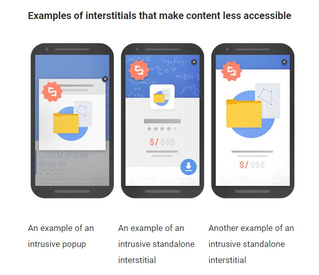 Google goes to war on 'intrusive' interstitial mobile ads