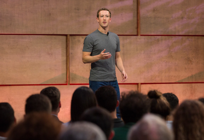 Facebook's Mark Zuckerberg: 'We're not a media company'