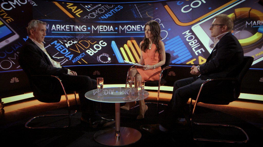 HSBC's Clark in conversation with CNBC presenter Julia Chatterley and C Squared chairman Charlie Crowe