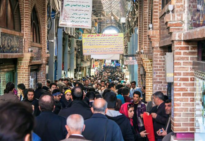 tehran iran market