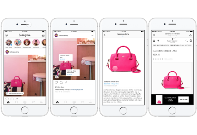 Instagram tests e-commerce with in-app shopping trials