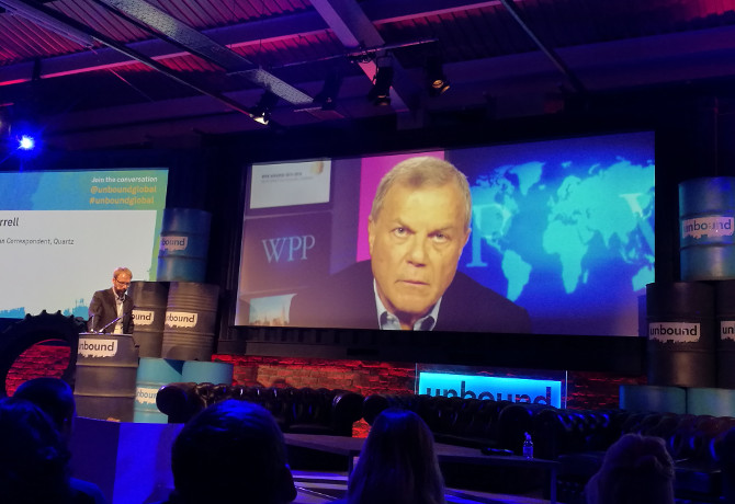 Sorrell slams 'outrageous' Google and Facebook over 'fake news' denials