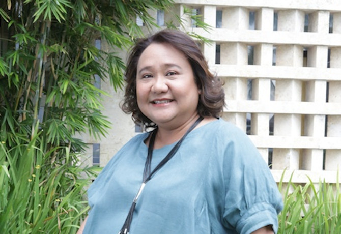 Margot Torres, executive vice president and deputy managing director of McDonald's Philippines