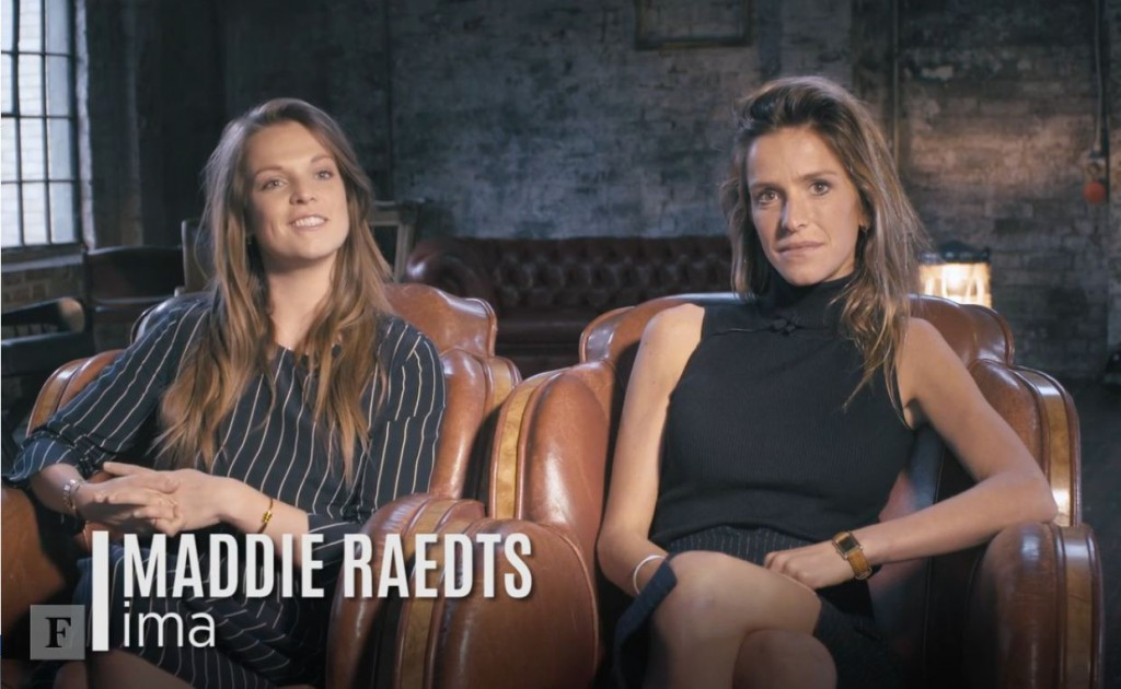 Maddie Raedts and co-founder Emilie Tabor featured in Forbes' '30 Under 30' list