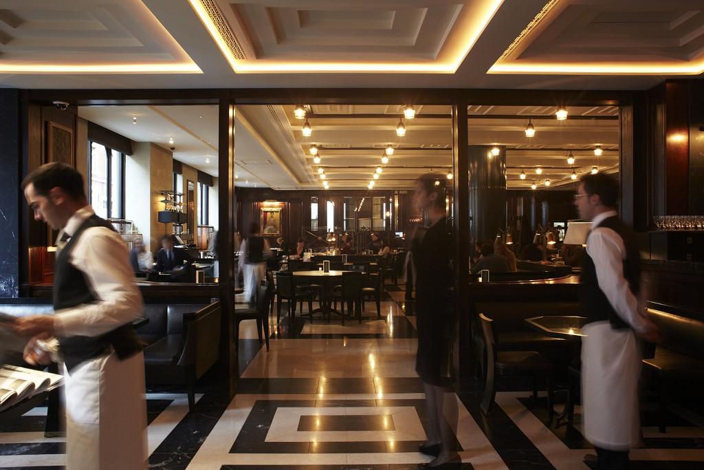 The Delaunay restaurant on London's Aldwych