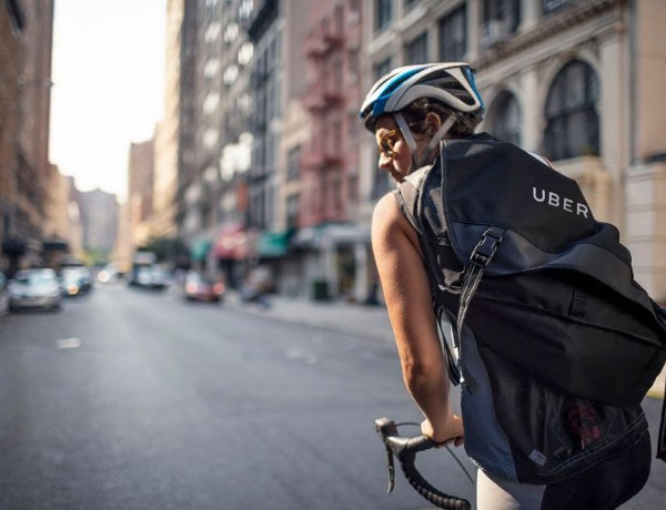 Uber cyclist