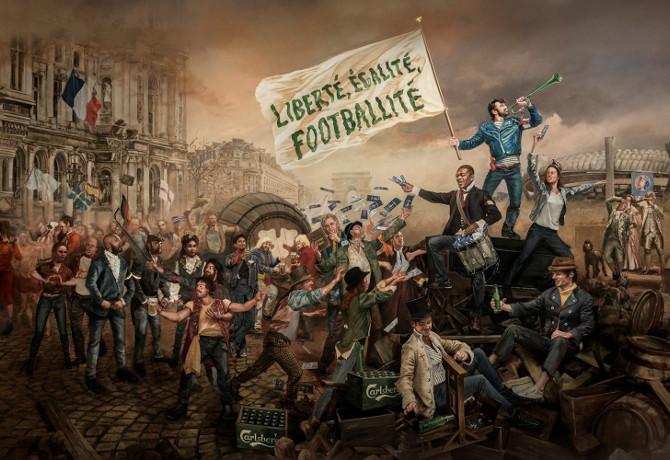 Euro 2016: 'If Carlsberg did La Révolution...' campaign