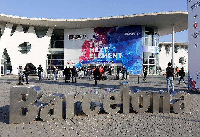 Mobile World Congress outside