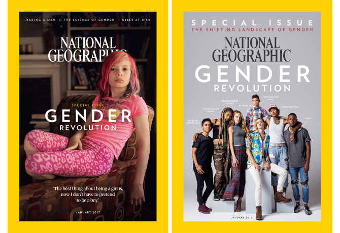 National Geographic's controversial 'Gender' issue
