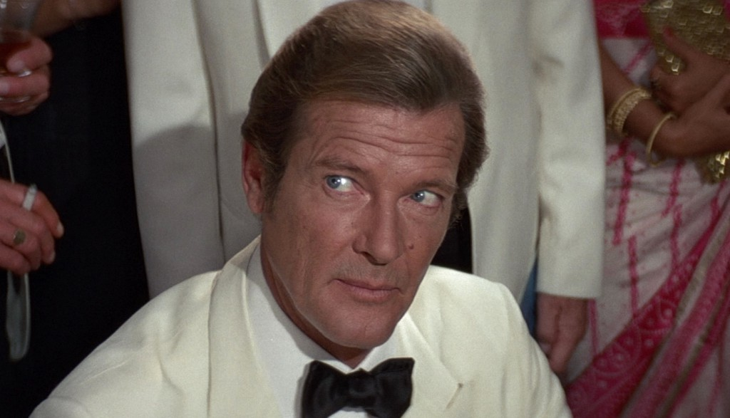 Lookalike? Roger Moore as James Bond