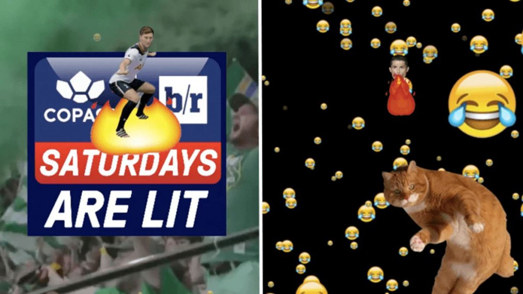 'Saturdays Are Lit', Copa90's weekly Snapchat partnership with Bleacher Report