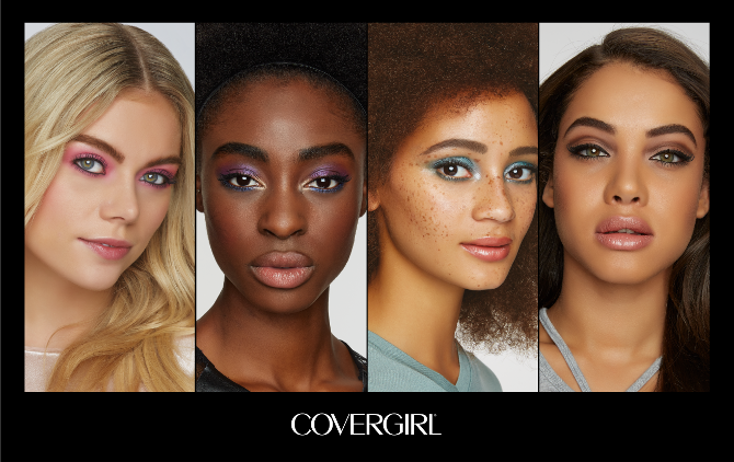 Four looks: An asset developed by Beamly for Coty's Covergirl brand