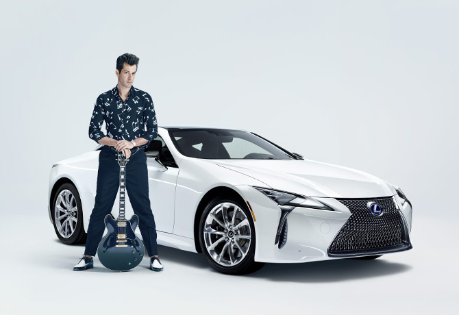 Lexus teams up with Mark Ronson for aptly-named 'Make Your Mark' campaign