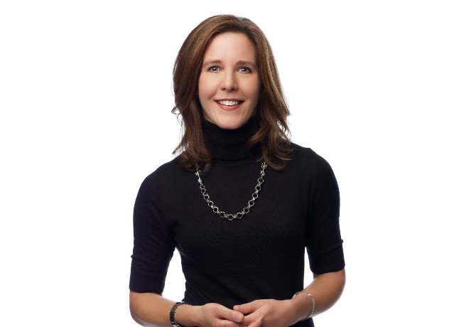 Kathy Kline, chief strategy officer at Starcom Worldwide, and Festival of Media Awards 2017 judge