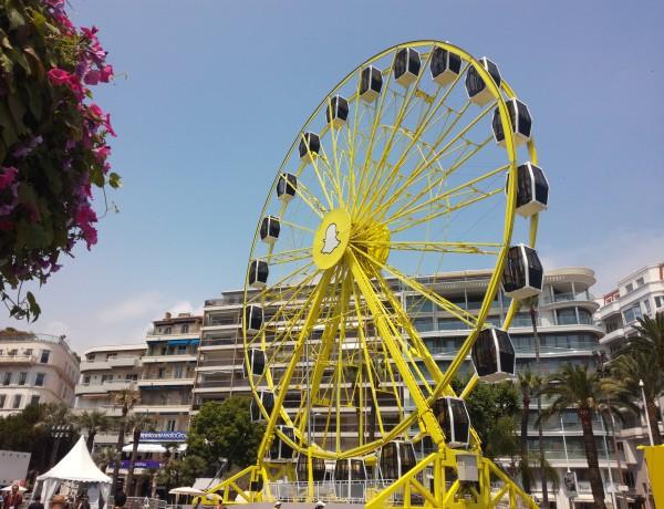 Snapchat wheel